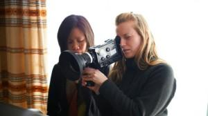 Sarah Polley og kamera