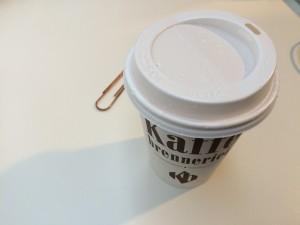 kaffe brenn er i et
