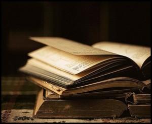 boken åpner seg