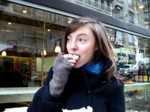 Clotilde liker sjokolade og surdeigsbrød