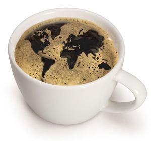 Drikk kaffe, redd verden
