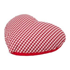 hjertepute fra IKEA