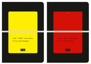 rødt og gult kort